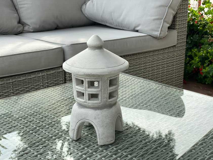 lampy ogrodowe chińskie pagoda